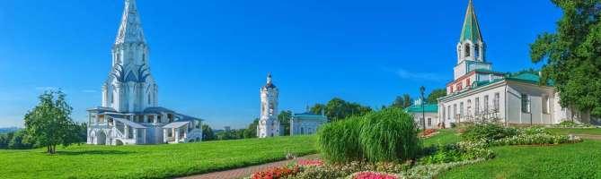 Парк Коломенское в Москве