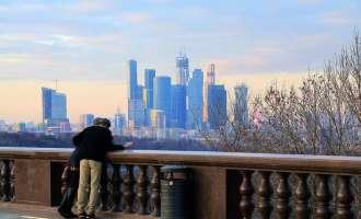 Воробьёвы горы в Москве