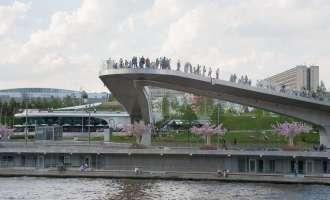 Парк «Зарядье» - парящий мост
